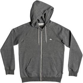 Quiksilver Everyday Zip Veste polaire à capuche Homme, dark grey heather
